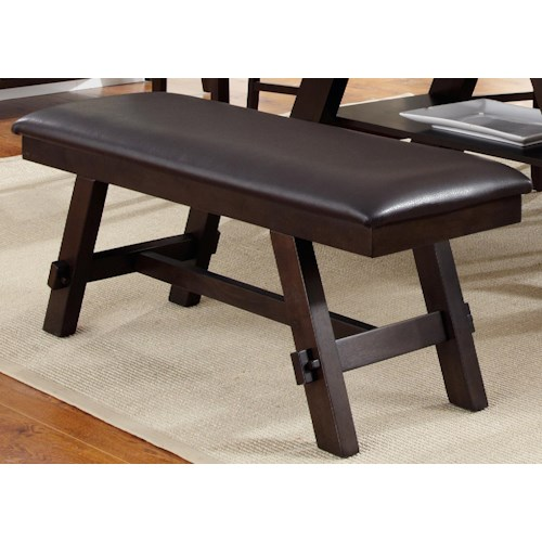 Liberty Furniture Lawson Upholstered Dining Bench