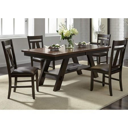 5-Piece Dining Table & Chair Set
