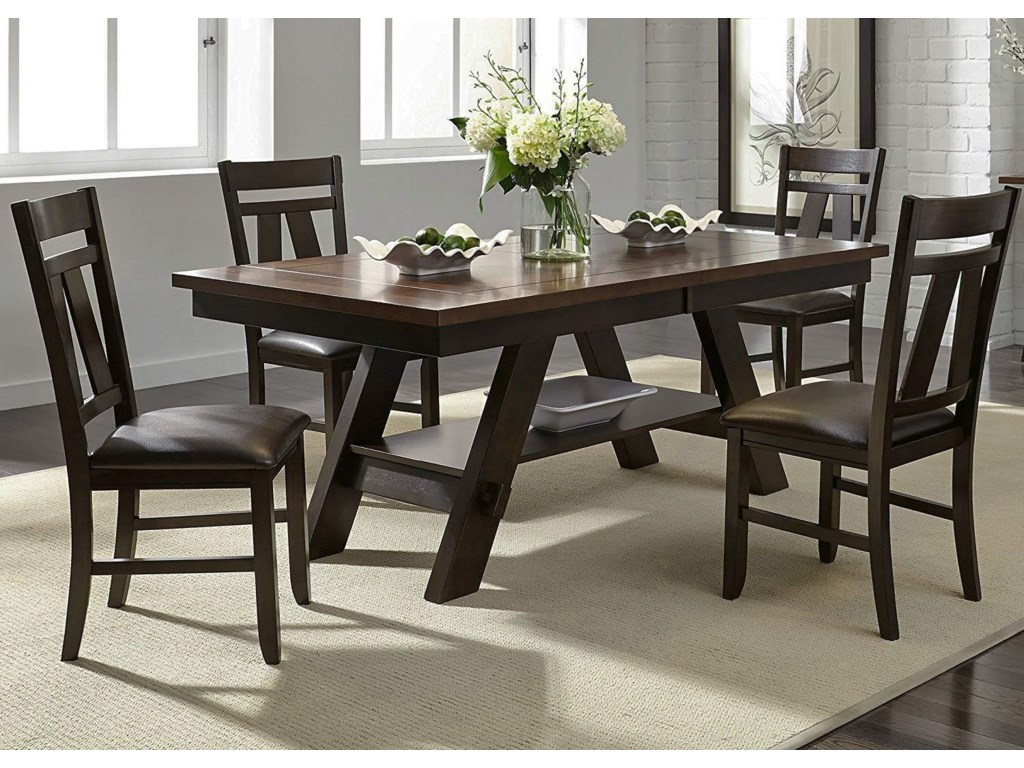 Liberty Furniture CityScape5-Piece Dining Table & Chair Set