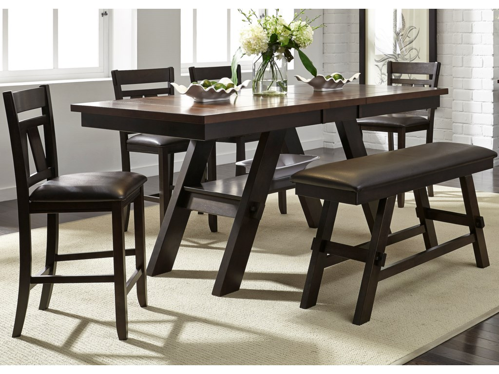 Liberty Furniture Lawson6 Piece Gathering Table Set