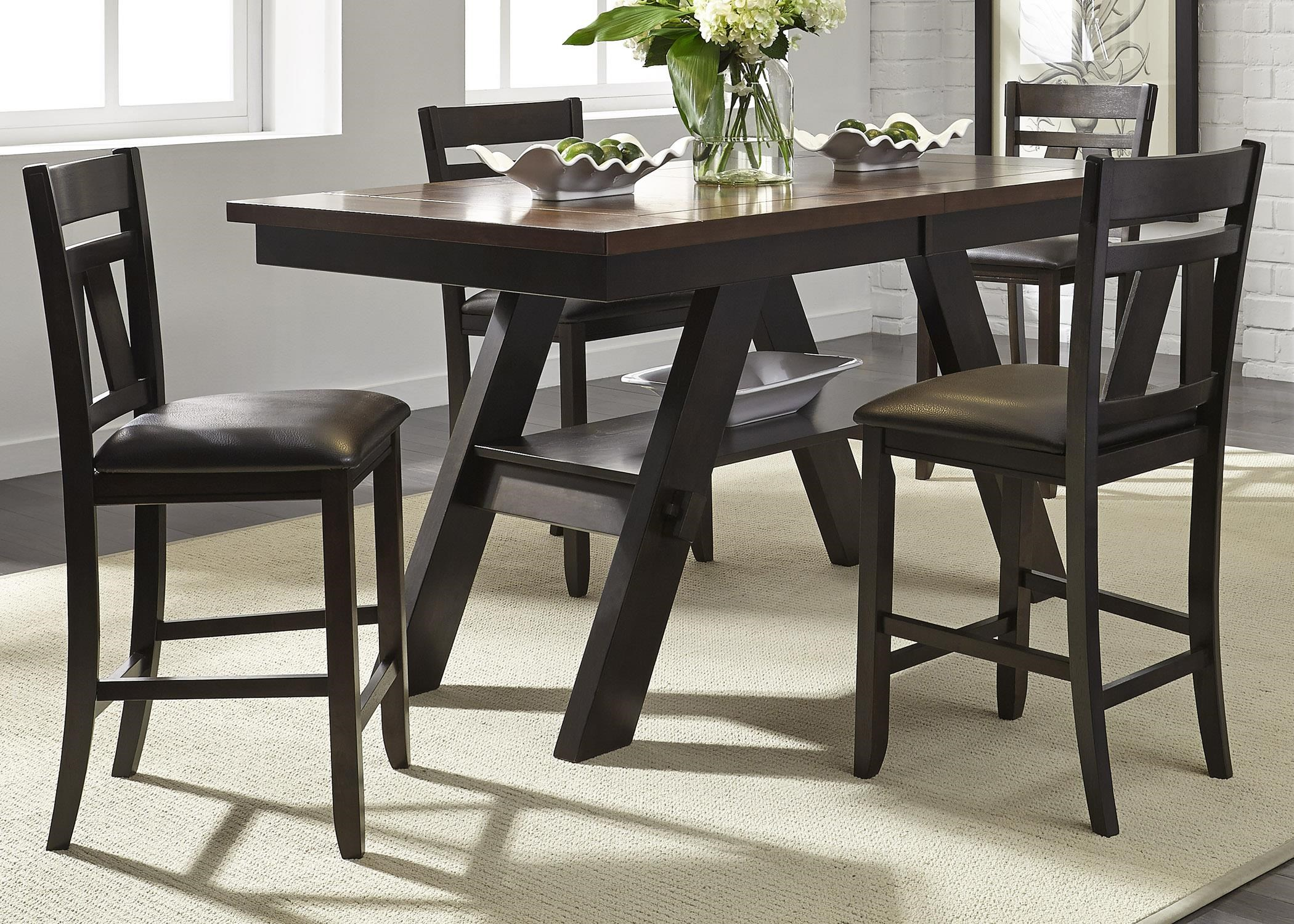 Liberty Furniture Lawson 5 Piece Gathering Table Set : gathering table sets - pezcame.com