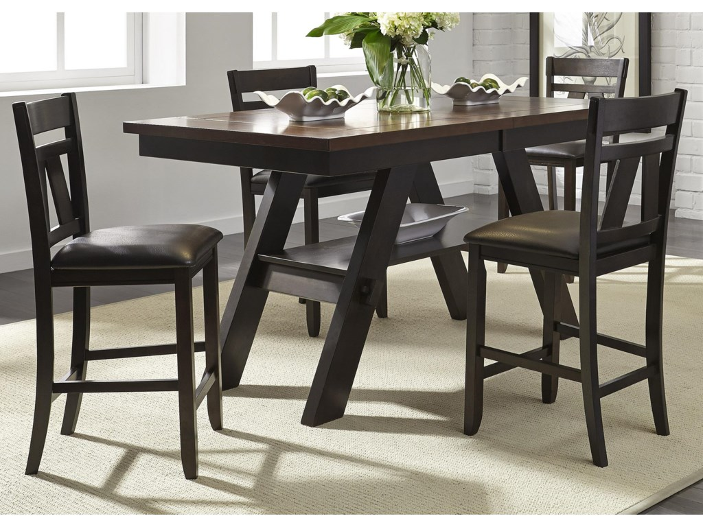 Liberty Furniture Lawson5 Piece Gathering Table Set