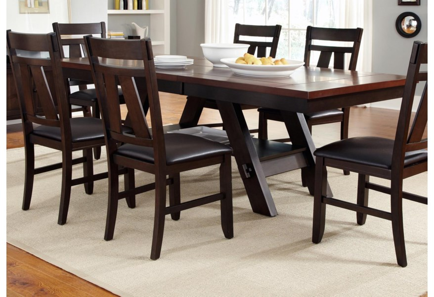 Lawson Trestle Rectangular Dining Table by Liberty Furniture at Furniture  and ApplianceMart