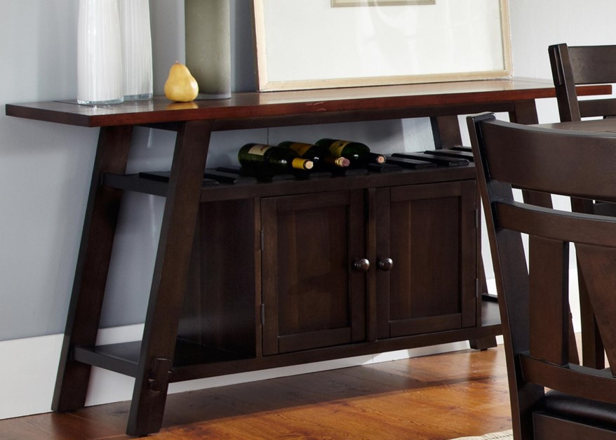 Dining Room Sets With Wine Storage