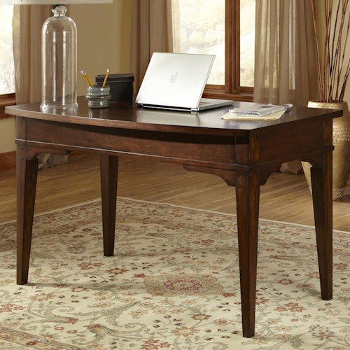 Liberty Furniture Leyton Writing Desk with Drop Down Center Drawer