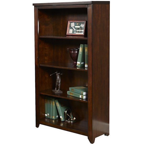 Liberty Furniture Leyton Open Four-Shelf Office Bookcase