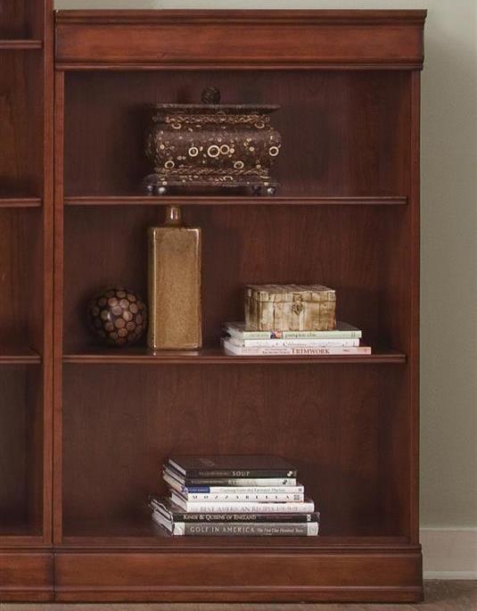 Liberty Furniture Louis Jr BookcaseJr Executive 48 Inch Bookcase