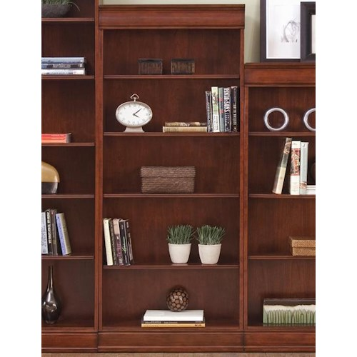 Liberty Furniture Louis Jr Bookcase Transitional Jr Executive 72 Inch Bookcase