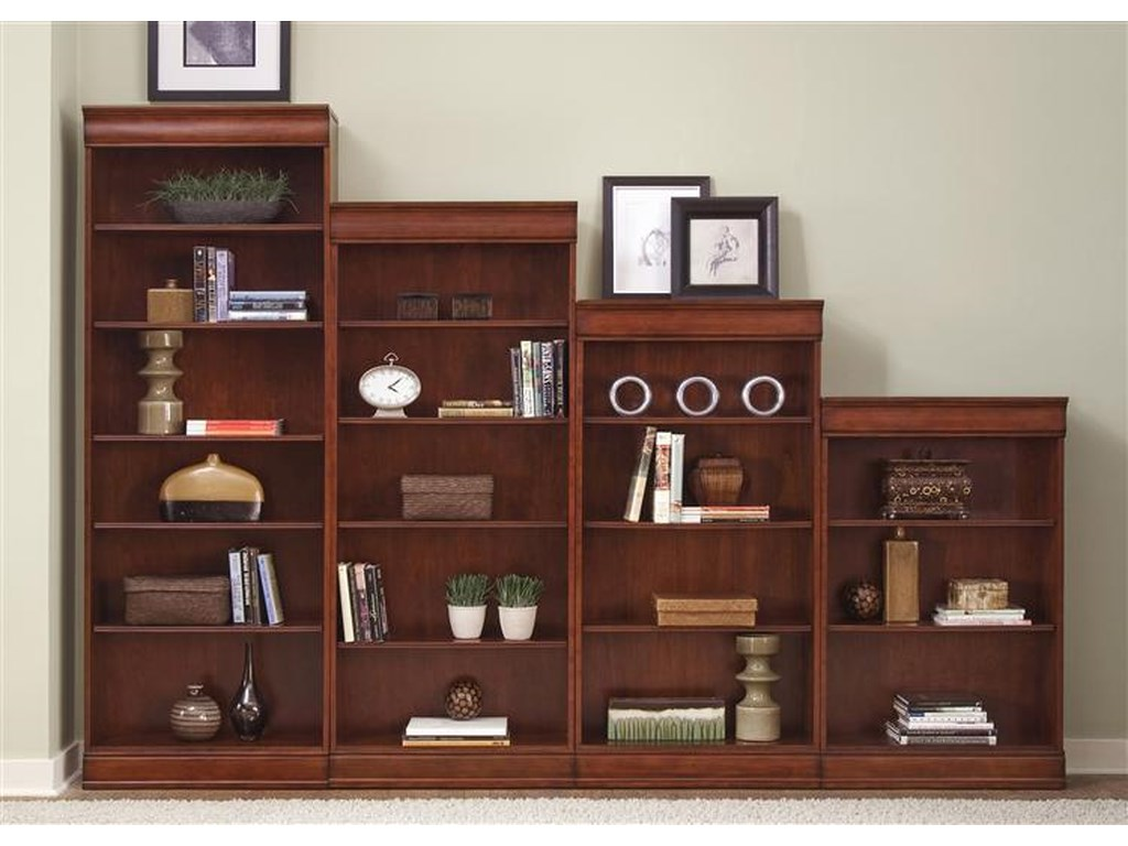 Liberty Furniture Louis Jr BookcaseJr Executive 72 Inch Bookcase