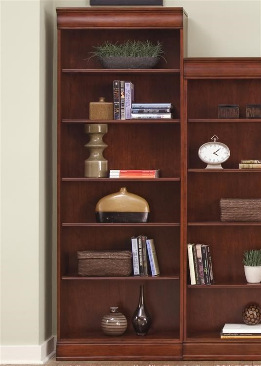Liberty Furniture Louis Jr BookcaseJr Executive 84 Inch Bookcase