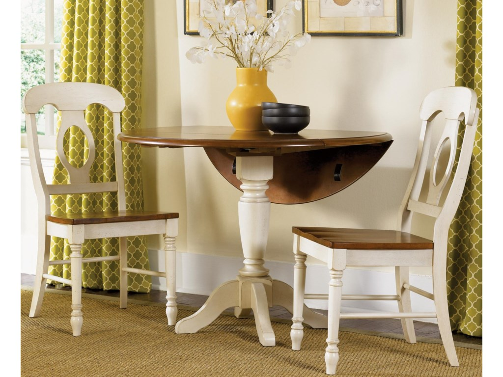 Napoleon Side Chair Shown with Drop Leaf Table