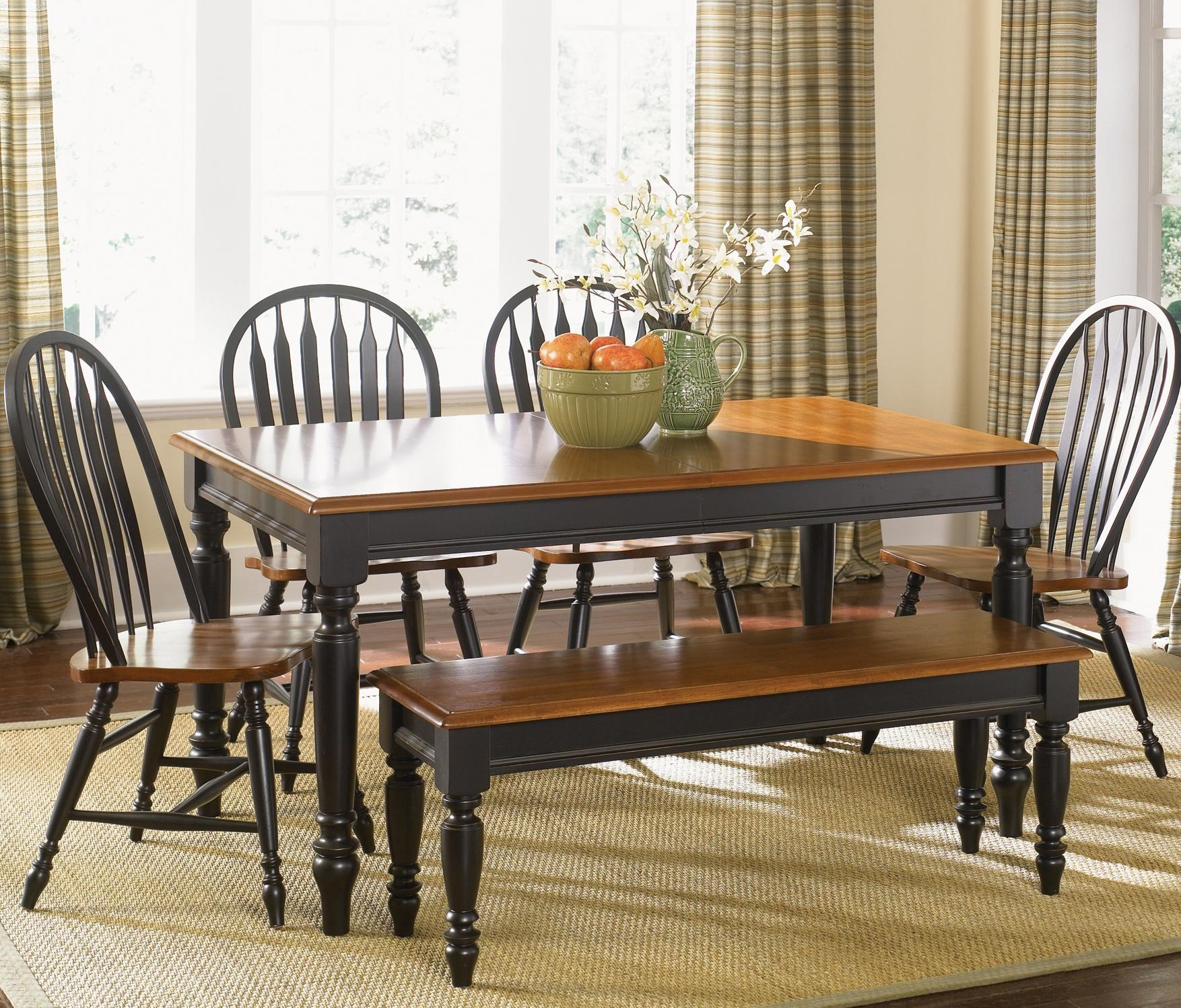 Superior Liberty Furniture Low Country Six Piece Dining Set With Turned Legs