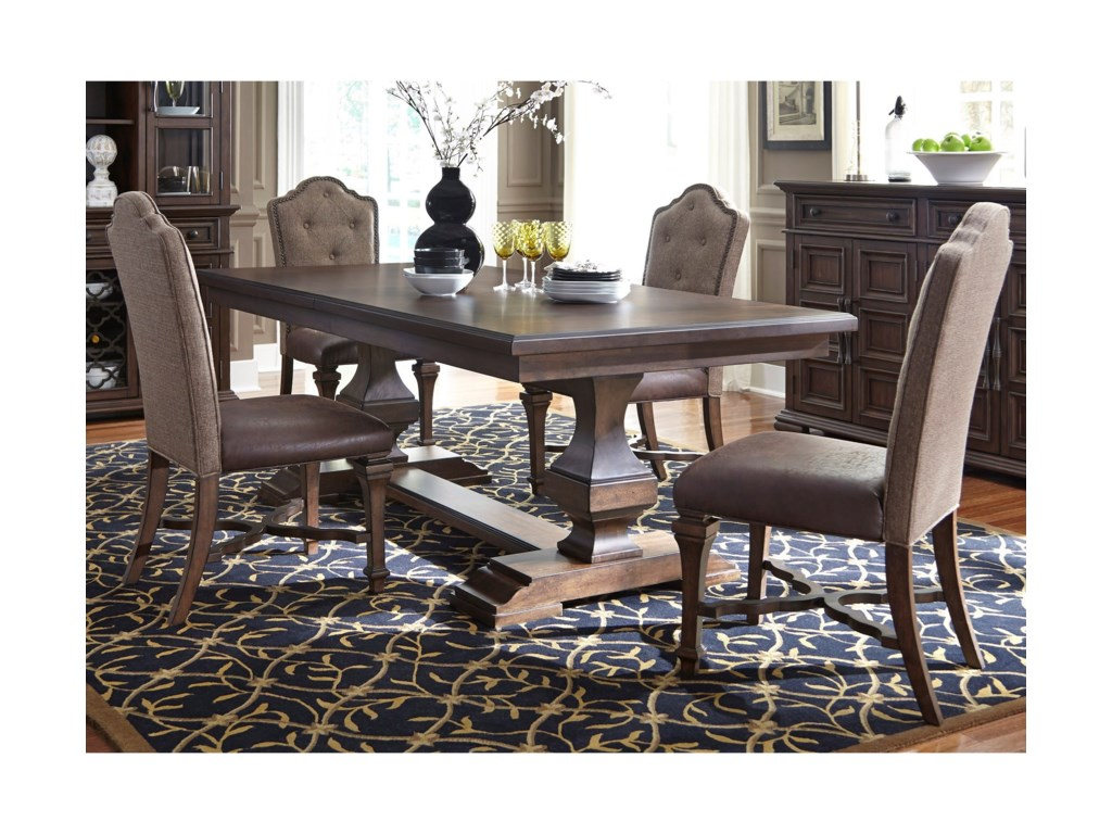 Liberty Furniture Lucca5 Piece Dining Table and Chair Set