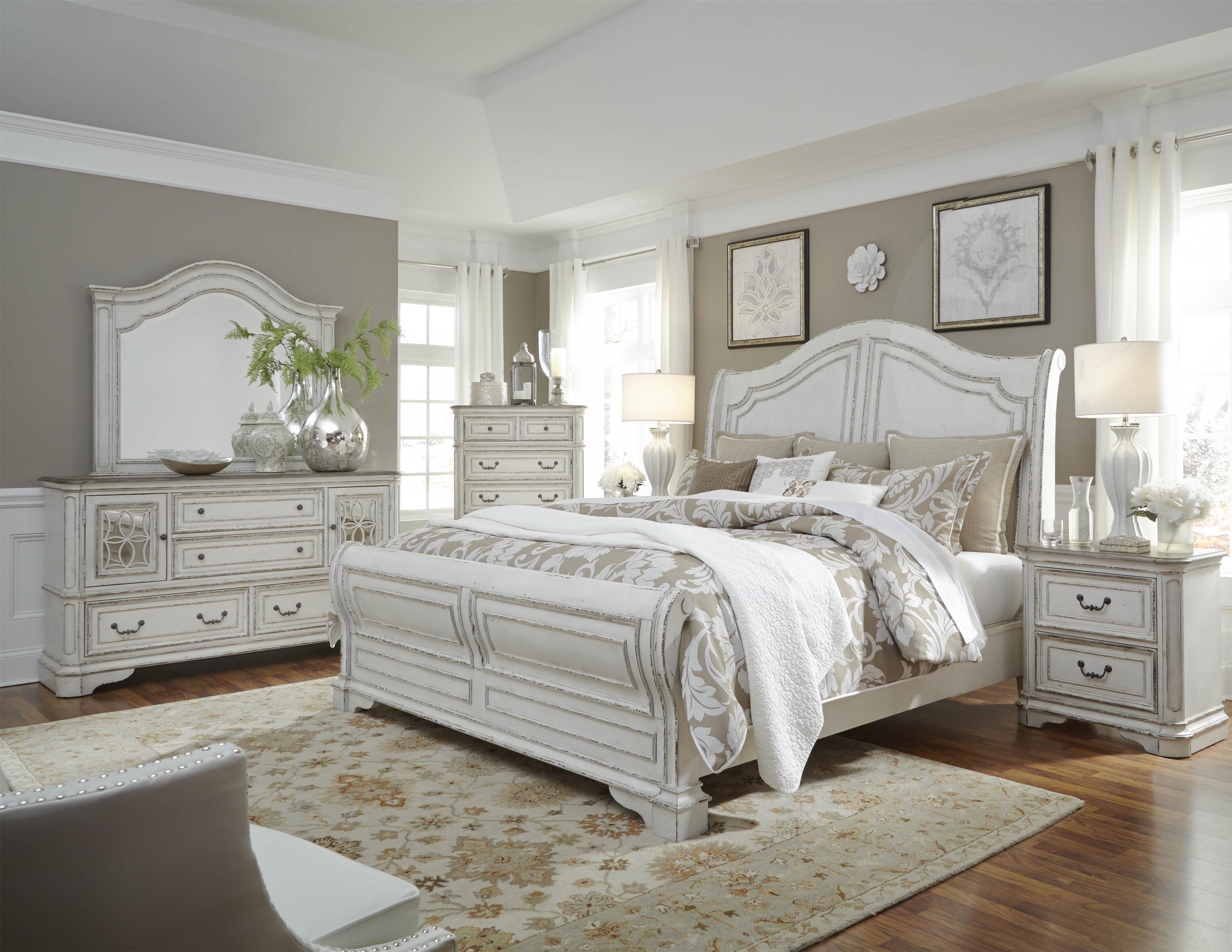 Liberty Furniture Magnolia Manor6 Piece Bedroom Group