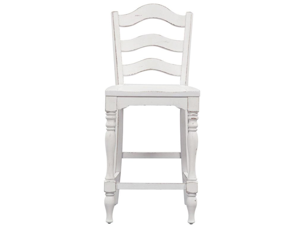 Liberty Furniture Magnolia Manor DiningLadder Back Counter Chair