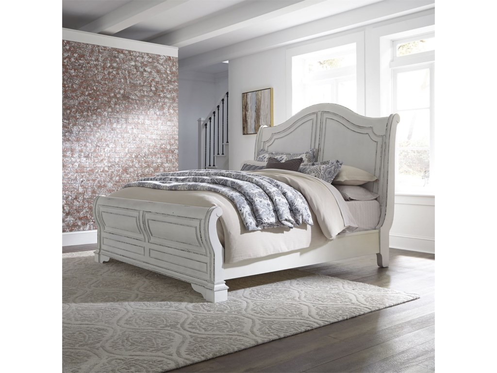 Liberty Furniture Magnolia ManorKing Sleigh Bed