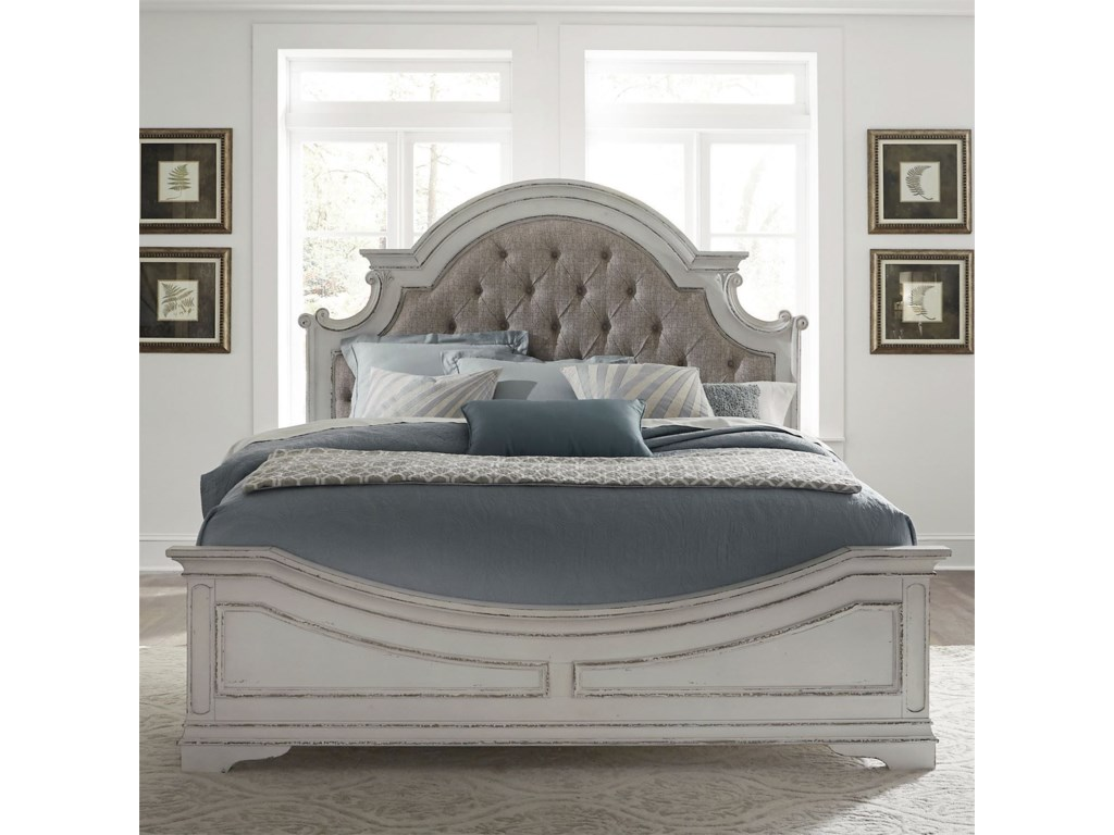 Liberty Furniture Magnolia ManorKing Upholstered Bed