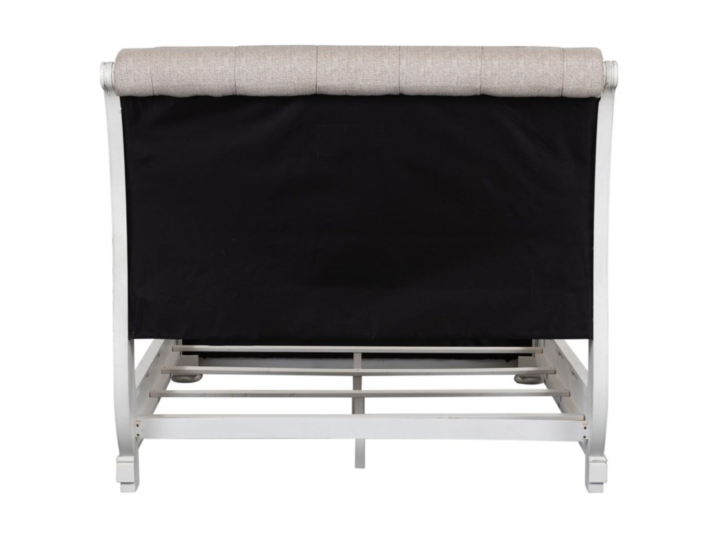 Liberty Furniture Magnolia ManorKing Upholstered Sleigh Bed