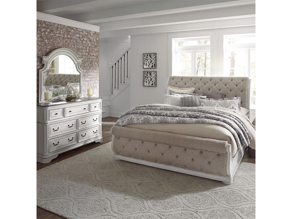 Liberty Furniture Magnolia ManorKing Bedroom Group