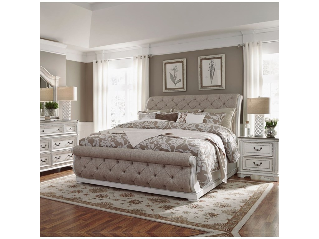 Liberty Furniture Magnolia ManorKing Bedroom Group