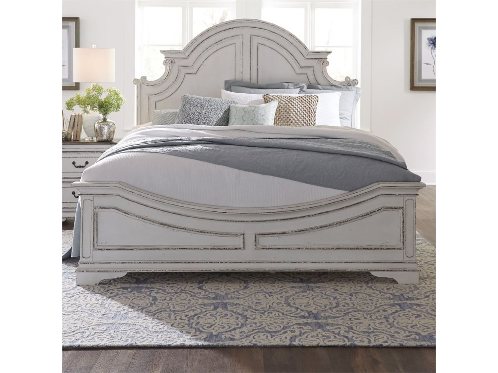 Liberty Furniture Magnolia ManorQueen Panel Bed