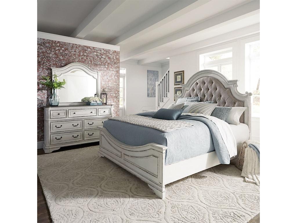 Liberty Furniture Magnolia ManorQueen Bedroom Group