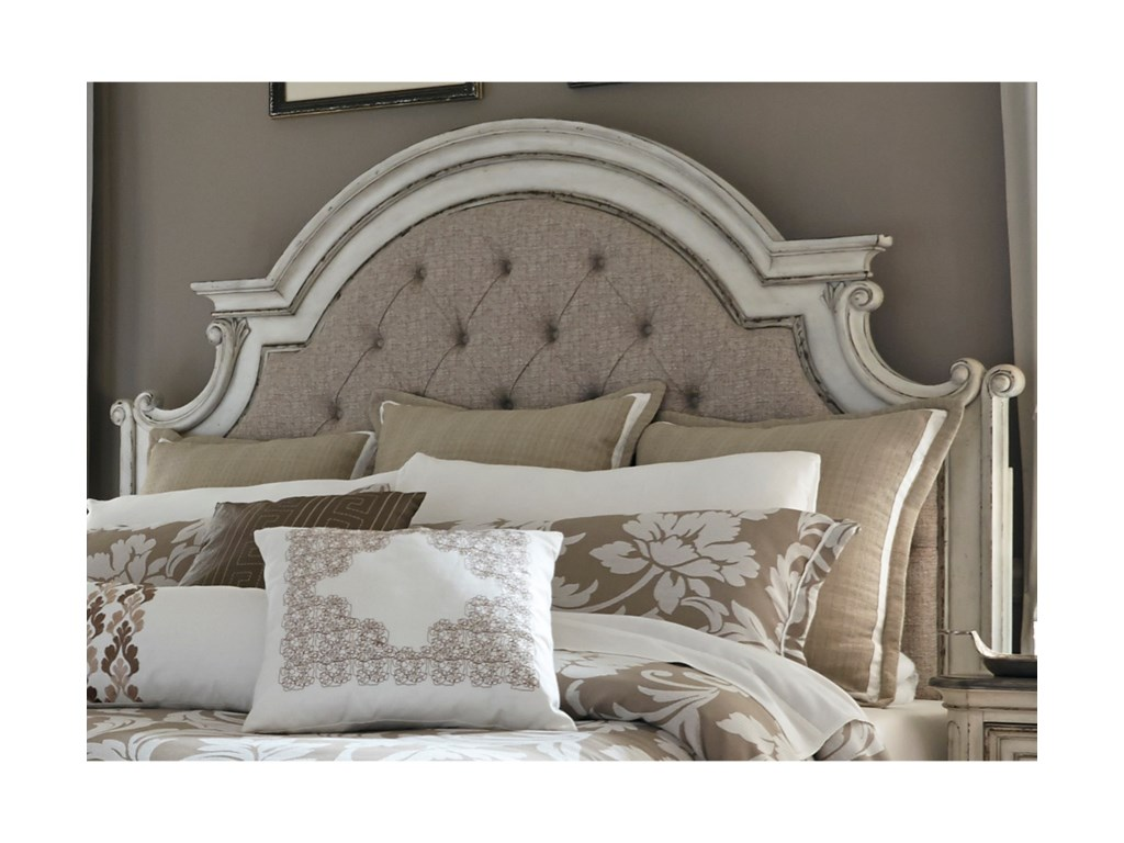 Liberty Furniture Magnolia ManorQueen Upholstered Panel Headboard