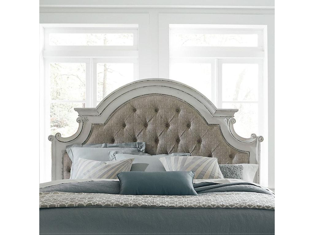 Liberty Furniture Magnolia ManorKing Upholstered Panel Headboard