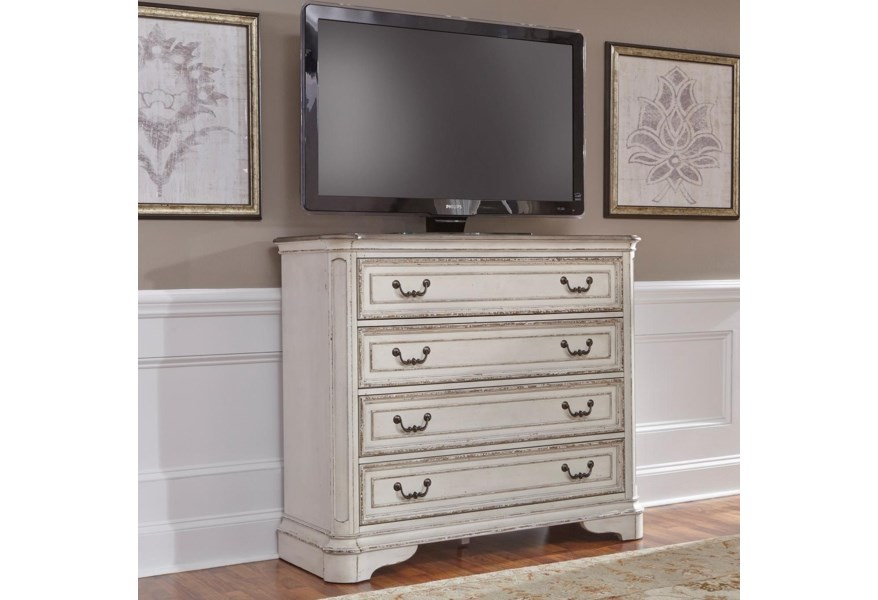 Liberty Furniture Magnolia Manor 4 Drawer Media Chest With