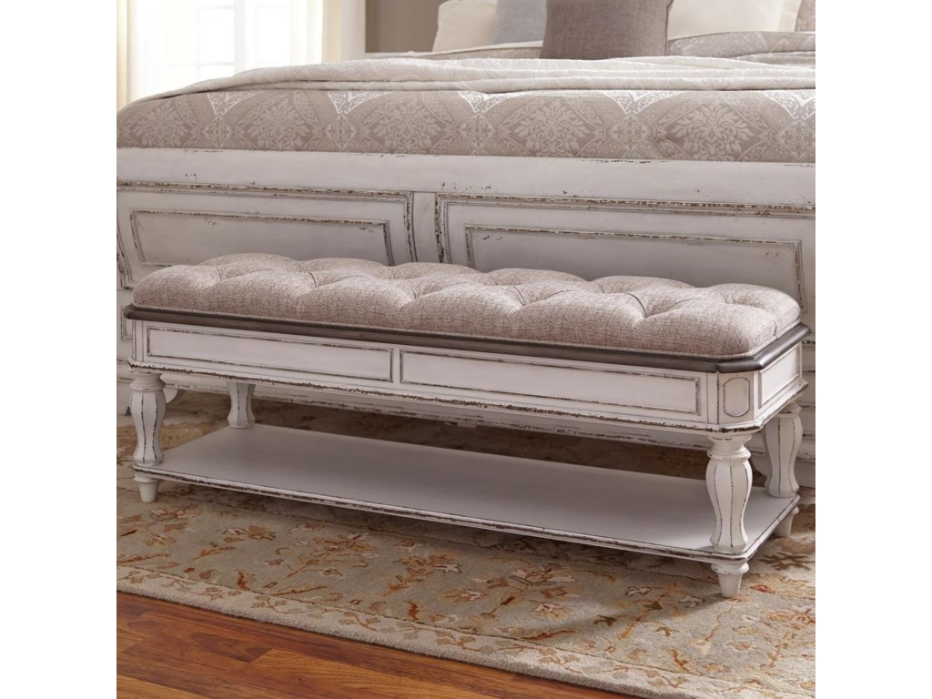 Liberty Furniture Magnolia ManorBed Bench