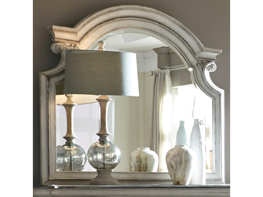 Liberty Furniture Magnolia ManorMirror with Wood Frame
