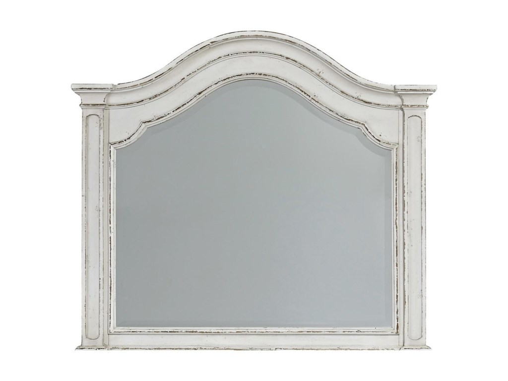 Liberty Furniture Magnolia ManorArched Mirror