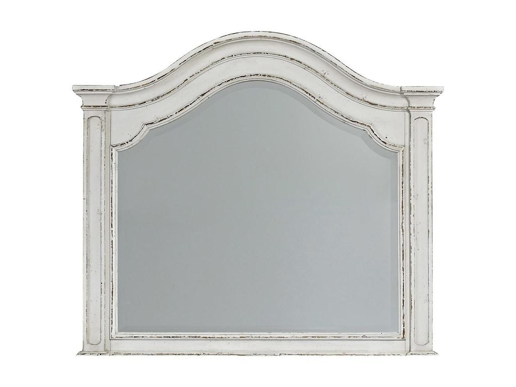 Liberty Furniture Magnolia ManorArched Mirror