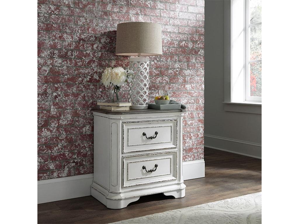 Liberty Furniture Magnolia Manor2 Drawer Night Stand