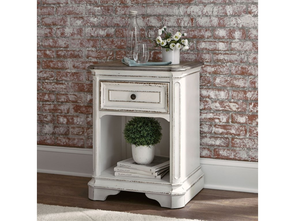 Liberty Furniture Magnolia Manor1 Drawer Nightstand