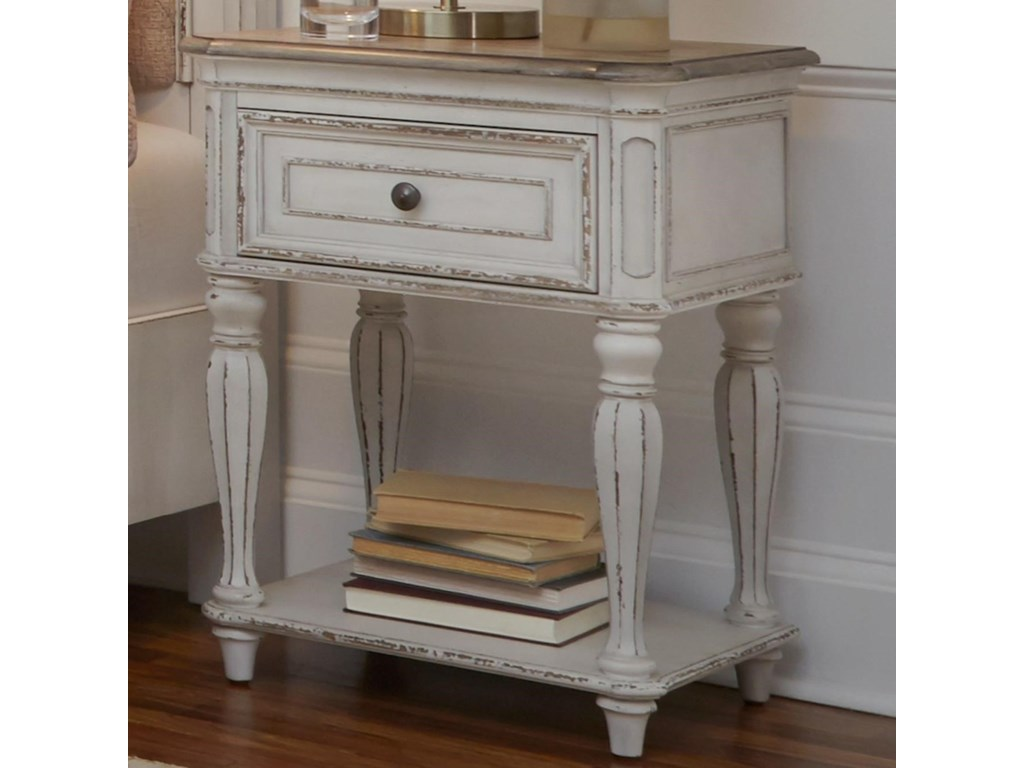 Liberty Furniture Magnolia ManorOne Drawer Nightstand