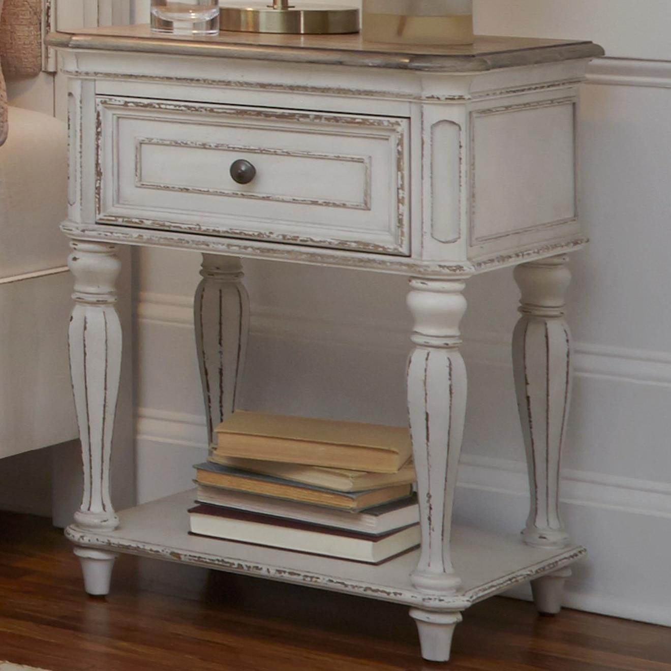 Liberty Furniture Magnolia ManorOne Drawer Nightstand