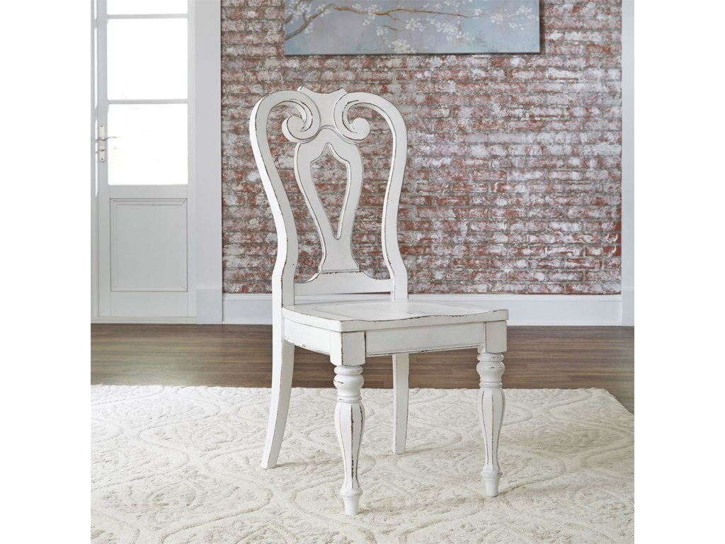 Liberty Furniture Magnolia Manor DiningSplat Back Side Chair