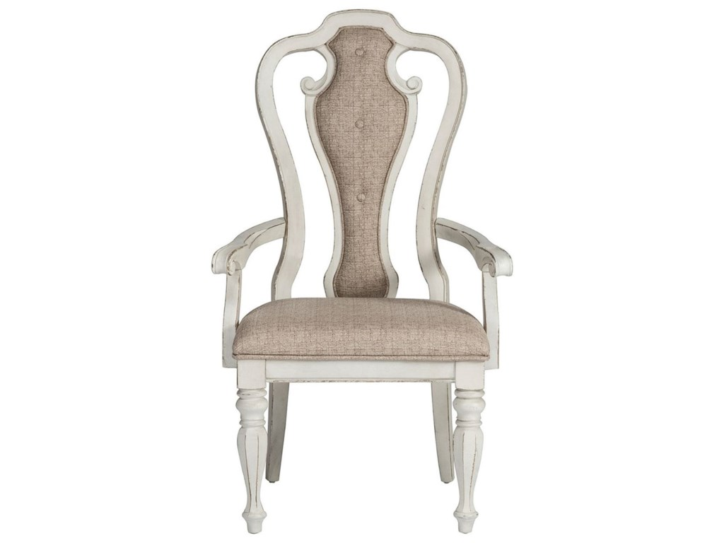 Liberty Furniture Magnolia Manor DiningSplat Back Arm Chair