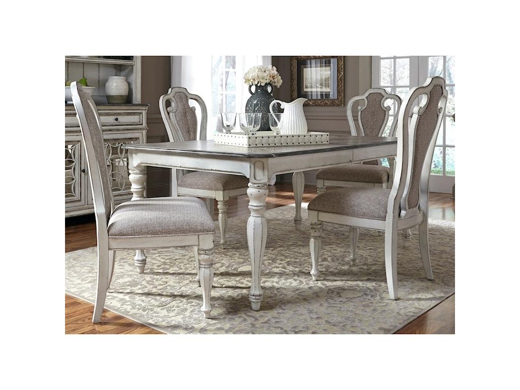 Liberty Furniture Magnolia Manor DiningSplat Back Side Chair