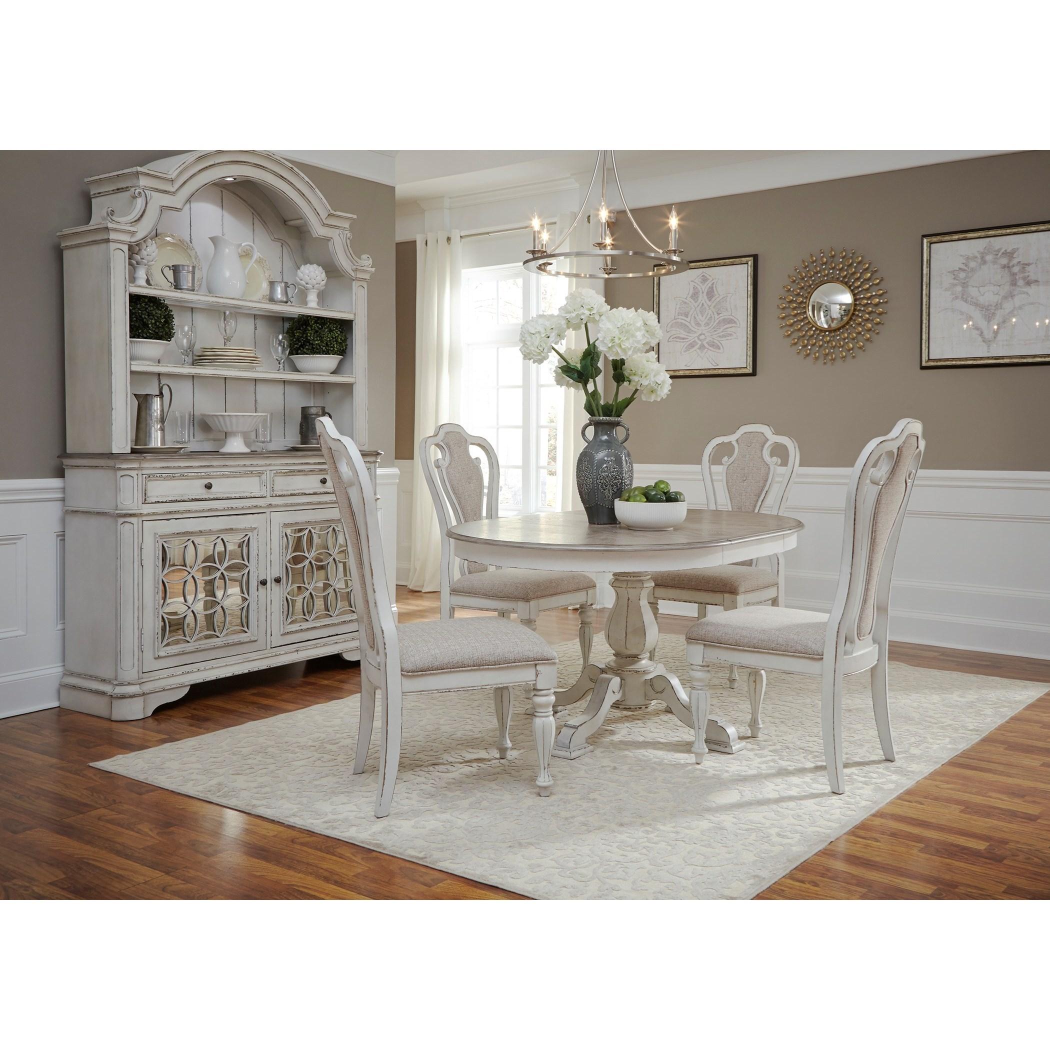 ... Liberty Furniture Magnolia Manor5 Piece Table Set