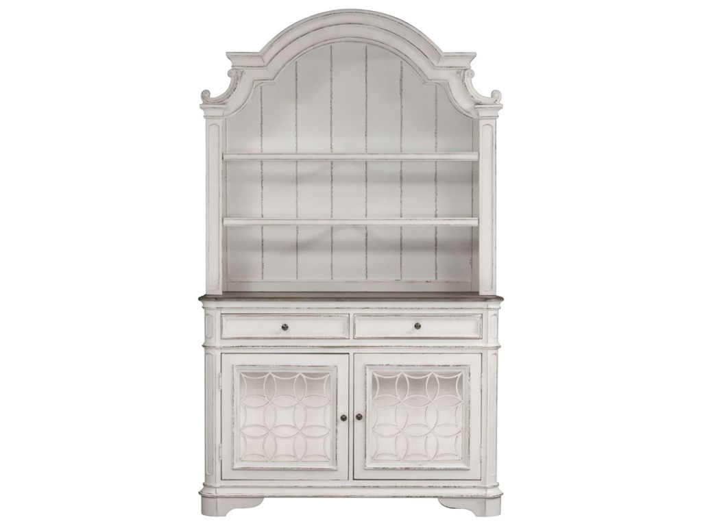 Liberty Furniture Magnolia Manor DiningDining Buffet and Hutch