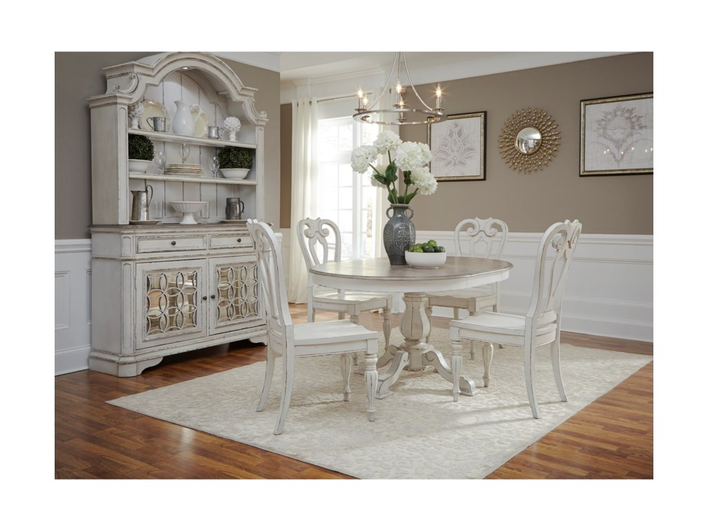 Liberty Furniture Magnolia Manor5 Piece Table Set