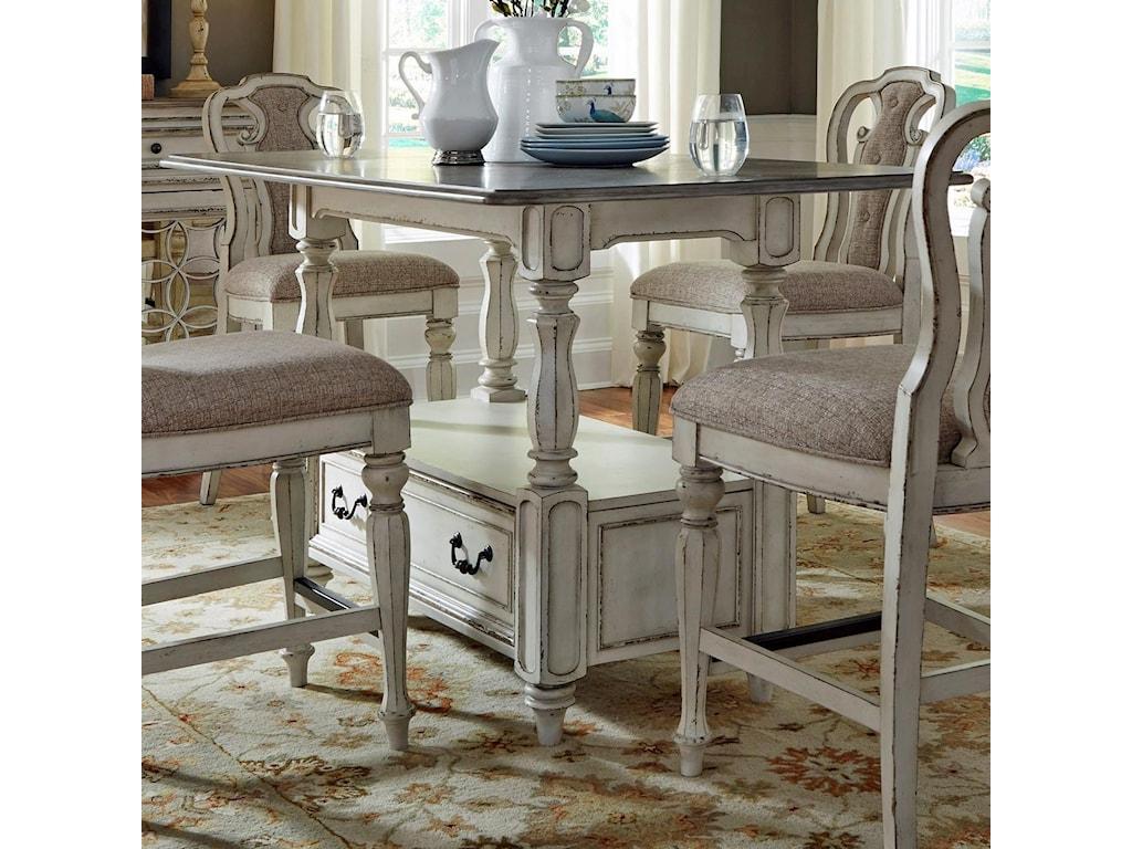 Liberty Furniture Magnolia Manor DiningRectangular Gathering Table