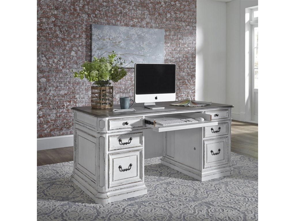 Liberty Furniture Magnolia Manor OfficeDesk