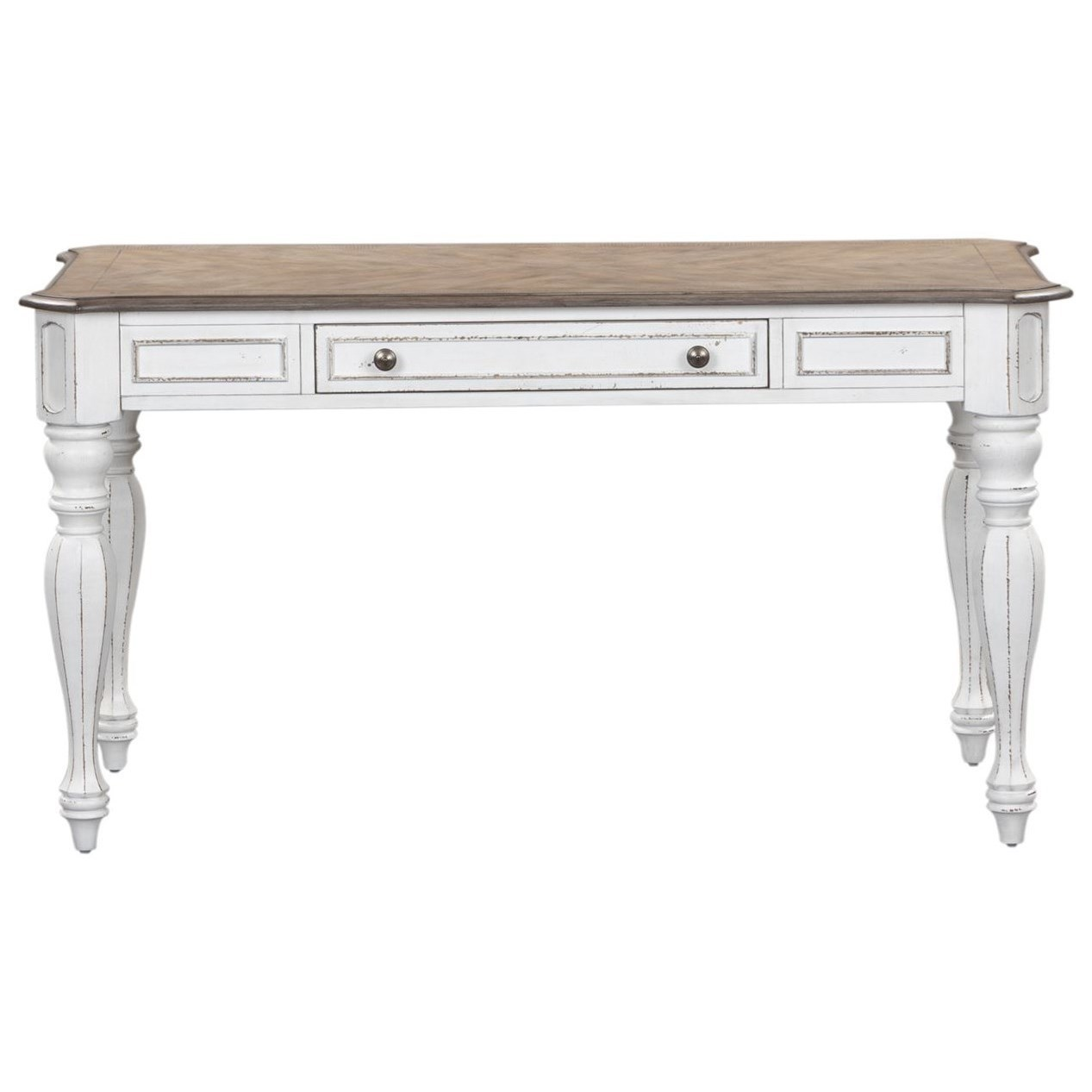 Relaxed Vintage Lift Top Writing Desk