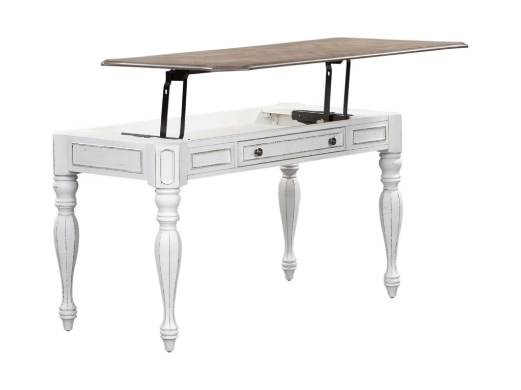 Liberty Furniture Magnolia Manor OfficeLift Top Writing Desk