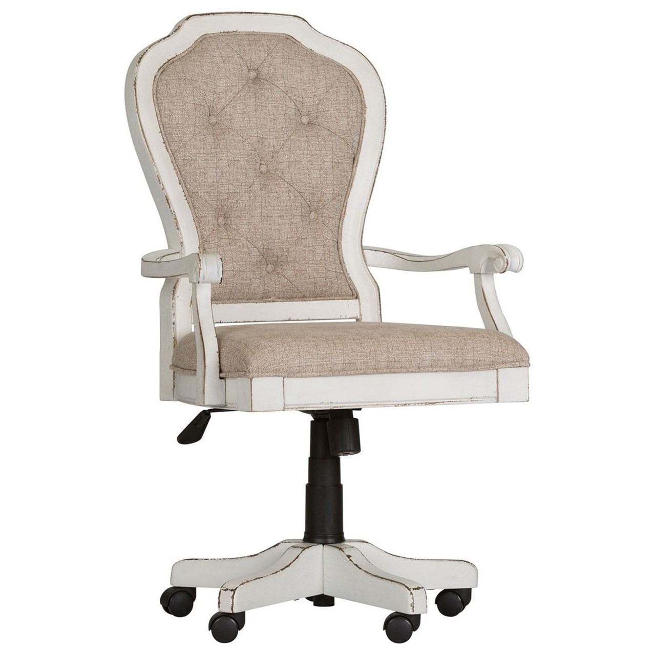 Superieur Magnolia Manor Office Traditional Executive Desk Chair With Button Tufted  Seat Back By Vendor 5349