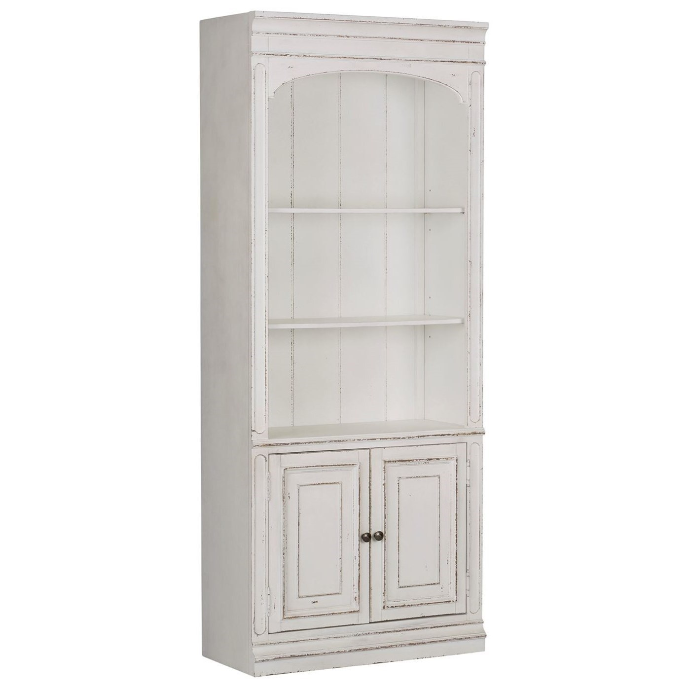 Liberty Furniture Magnolia Manor Office Traditional Bunching Bookcase