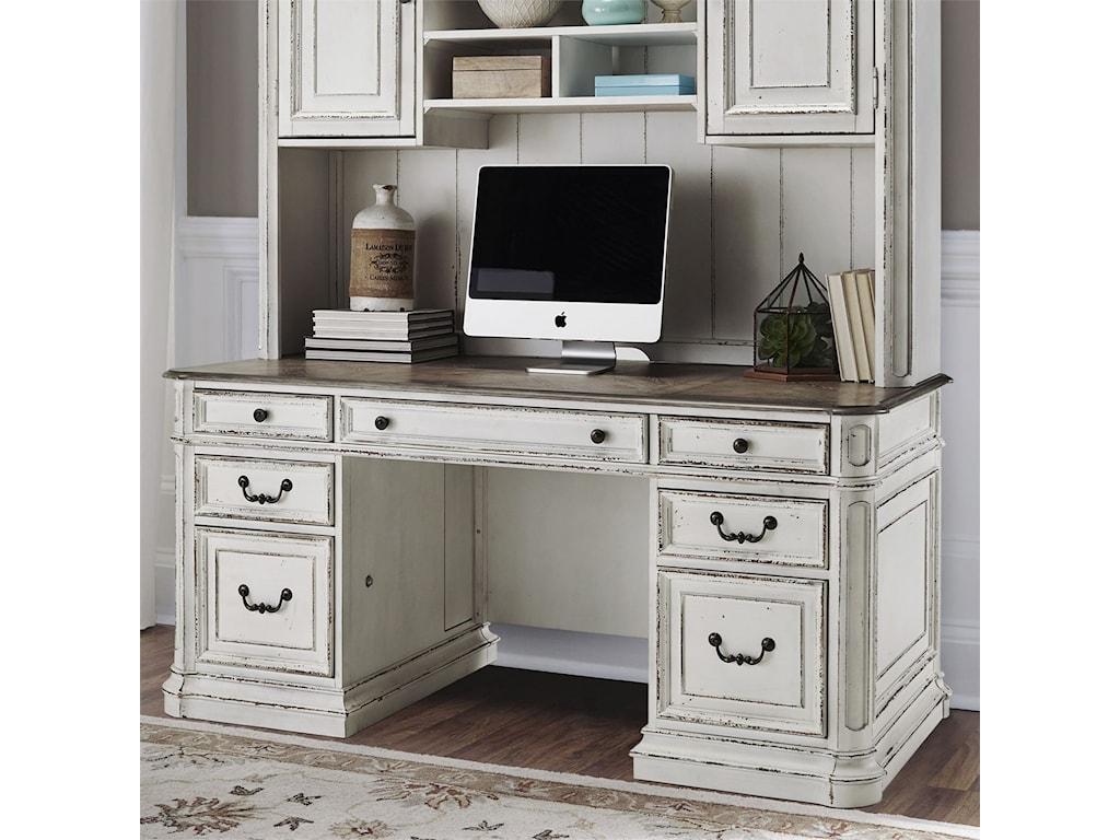 Liberty Furniture Magnolia Manor OfficeCredenza